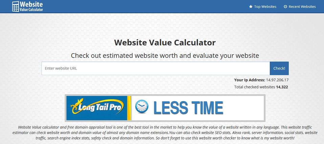 websitecalculator