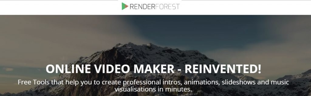 Renderforest\' helps you create broadcast quality videos