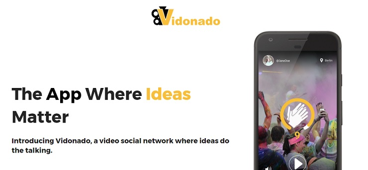 Get creative & let your videos do the talking on 'Vidonado