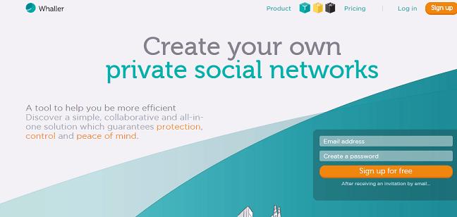 create social network like facebook free