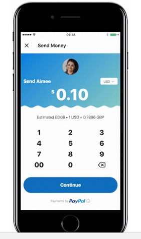 how to send money using paypal